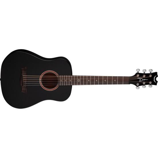 Dean Guitars FLYBKS Flight Mahogany Travel Guitar BKS
