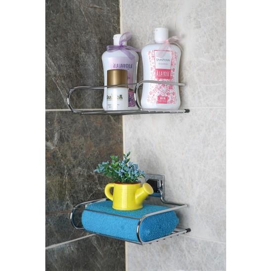 Hagen Güçlü Yapıştırma Banyo Mini Raf