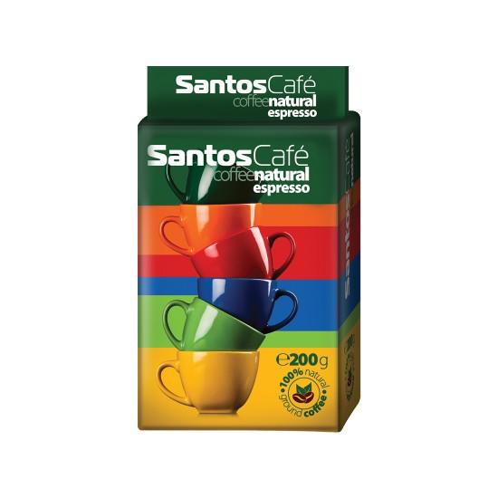 Spetema Santos Cafe Espresso Filtre Kahve 200 gr