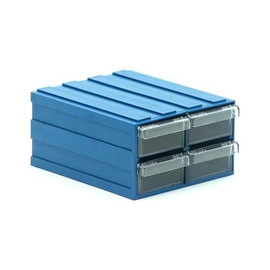 Sançelik 300 Plastik Çekmeceli Kutu (16 Adet)