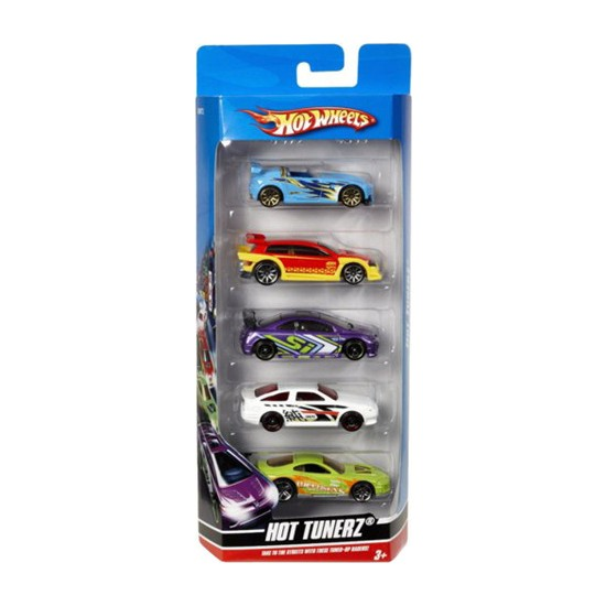 Hot Wheels Beşli Araba Seti