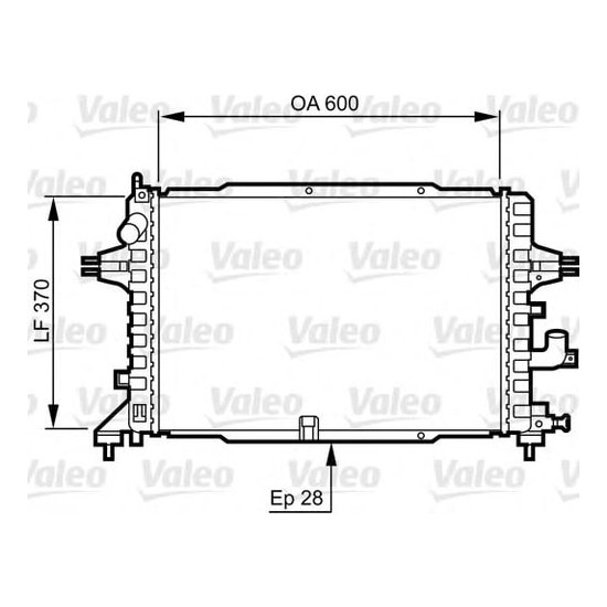Valeo Radyatör Opel Astra 1 3 Cdtı Zafıra D