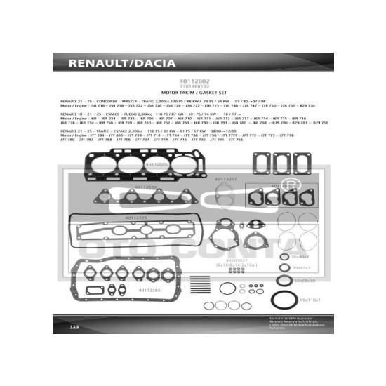 Oto-Conta Motor Takım Conta Keçelı R21 Trafıc 2.0
