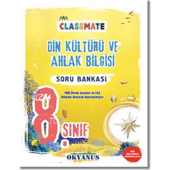 Okyanus 8. Sınıf Din Kültürü ve Ahlak Bilgisi Classmate Soru Bankası