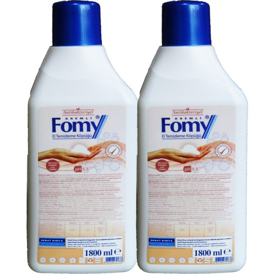 Fomy Antibakteriyel Köpük Sabun 1800 ml 2 Tane