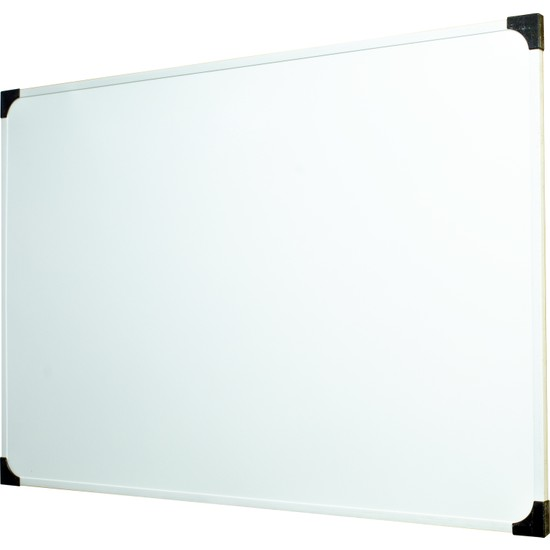 Neon Duvara Monte Beyaz Okul yazı Tahtası 55x85 cm - 1 Adet Tahta Kalemi ve Yazı Tahtası Silgisi