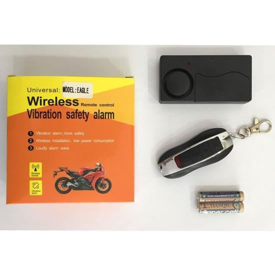 Jds Mts Kablosuz Uzaktan Kumandalı Motosiklet Alarmı, Wirelees Sistem