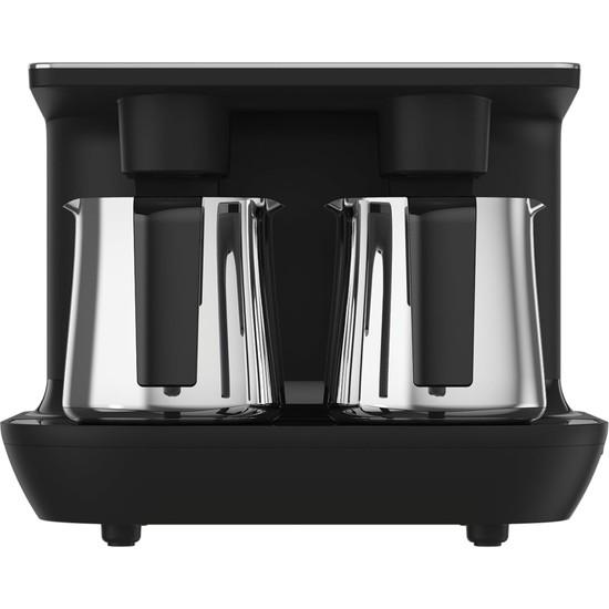 Arçelik TKM 9961 S Siyah Çelik İkili Türk Kahve Makinesi