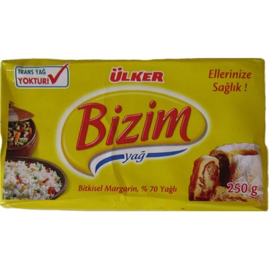 Trakya Bakliyat Trakya Bakliyat Bizim Margarin 250 gr 5 Adet