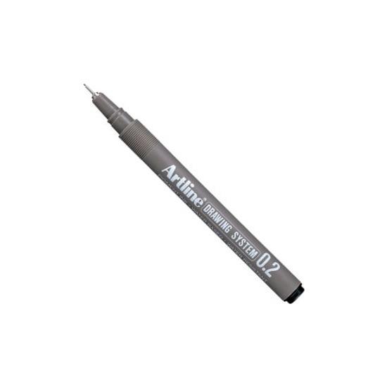 Artline Drawing System Teknik Çizim Kalemi 0.2 mm Siyah
