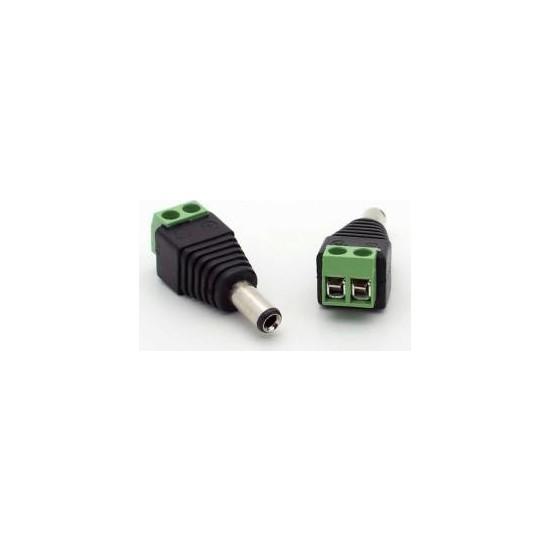 Arduino İçin 5.5*2.5Mm Dc Power Erkek Plug Jak Adaptör Konnektör Plug