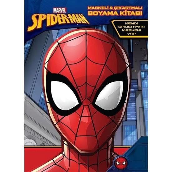 Marvel Spider Man Maskeli Ve Cikartmali Boyama Kitabi Fiyati