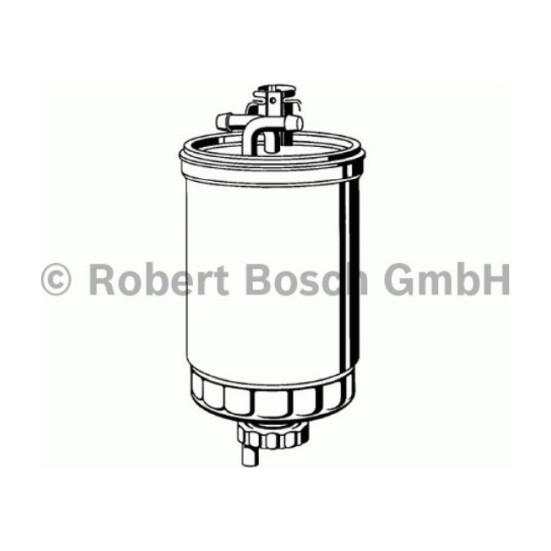 Bosch Mazot Filtresi Focus 1.8 Connect 75 Hp 98