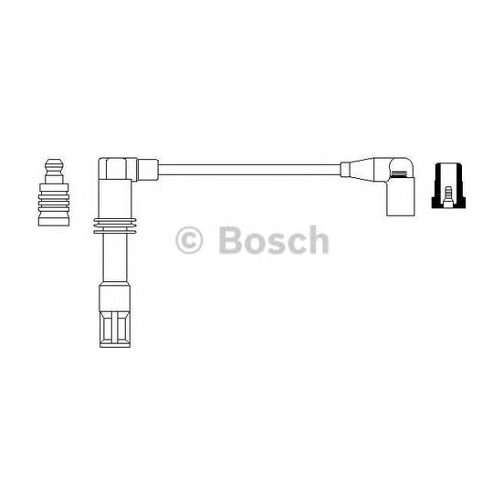 Bosch Buji Kablo Seti. Y*