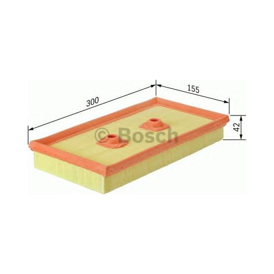 Bosch Hava Filtresi 42X300X155 Golf V 1.6 Fsı 03 Bag