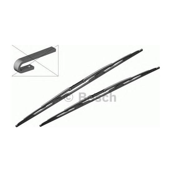 Bosch Silecek 550 650 mm E39 520 525 530 96