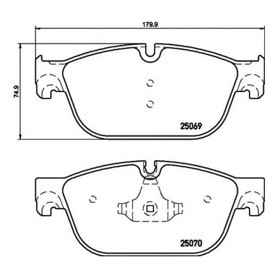 Bosch Fren Balatası Ön P407 P508 C5 III Ds5 1.6 2.0Hdı 2009