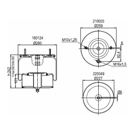 Connect Komple Metal Pistonlu Volvo 1075365 20452138 20554761