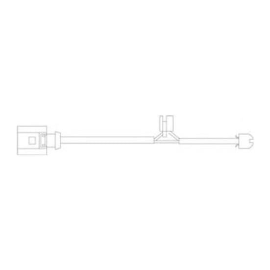 Delphi Balata İkaz Kablosu Ön VwTouareg3.2V6 02 06 AudıQ73.0Tfsı3.0Tdı06 10 Del Lz0209