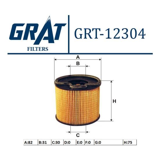 Grat Fiat Scudo 2.0 Mazot Filitresi Ufi 9401906508