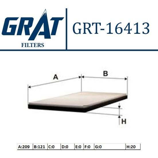 Grat Filtre Polen Hyundai Starex H1 0812 Grt 16413