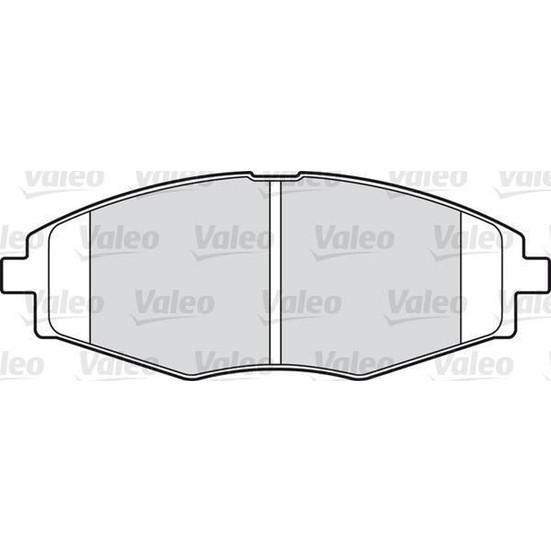 Valeo Disk Fren Balatası Ön Chevrolet Spark 0.8İ 1.0İ 05