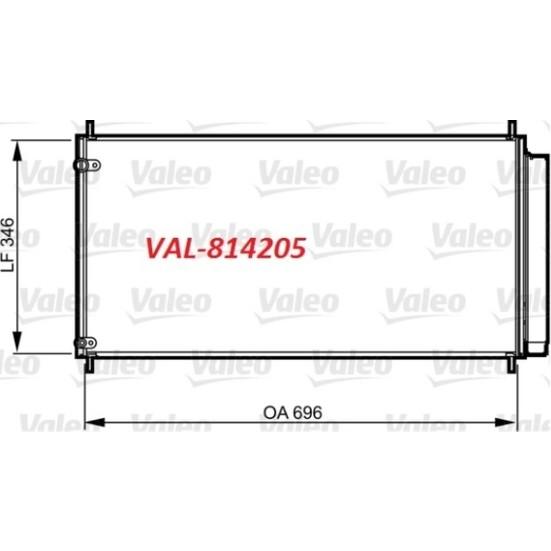 Valeo Kondenser Toyota Aurıs