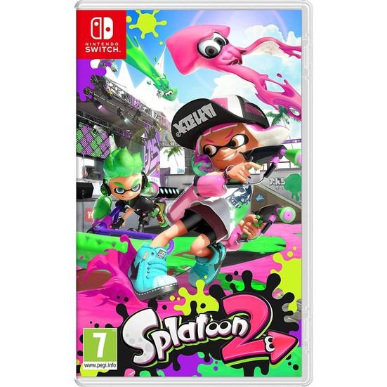 Nintendo Switch Splatoon 2 Switch Oyun (Resmi Distribütör Ürünü)