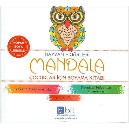 Hayvan Figurleri Cocuklar Icin Mandala Boyama Fiyati