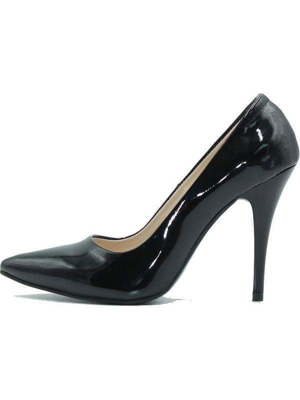 Arıcı 730 Arıcı Kadın Ayakkabı Siyah Rugan