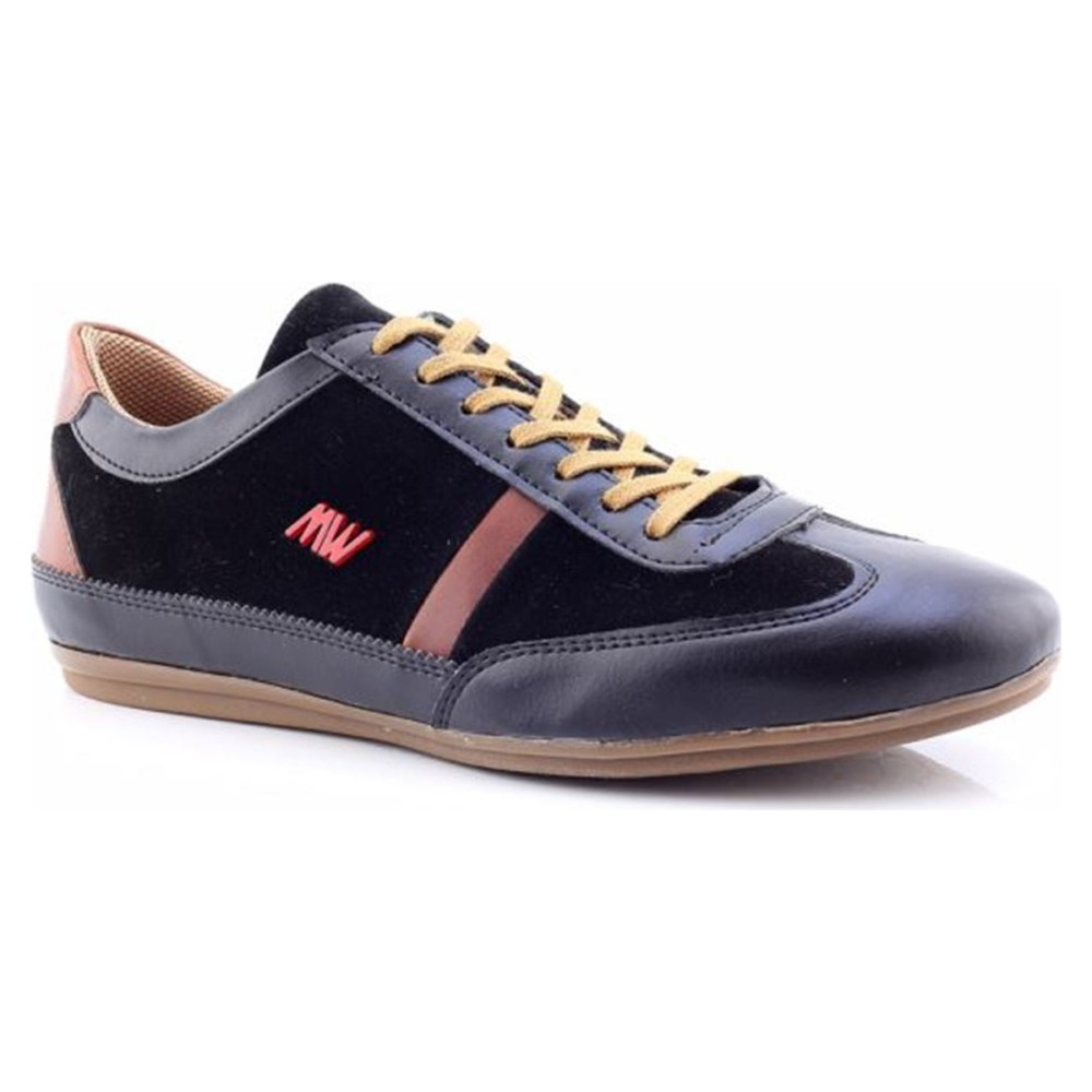Masswalk Erkek Siyah Taba Günlük Ayakkabı