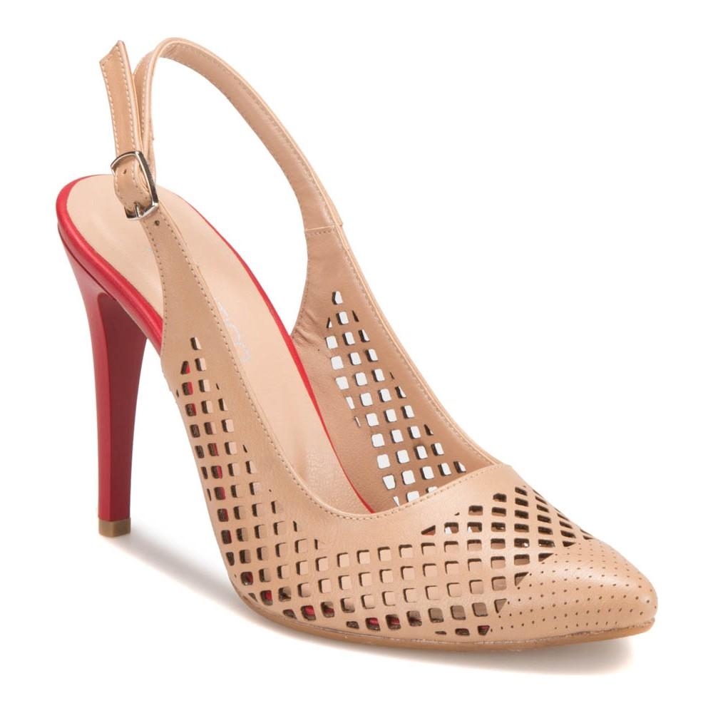 Butigo S852 Ten 390 Kadın Topuklu Ayakkabı