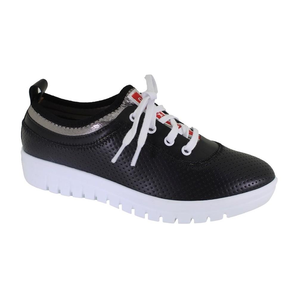 Despina Vandi OFZ Y-054 Siyah Kadın Günlük Ayakkabı