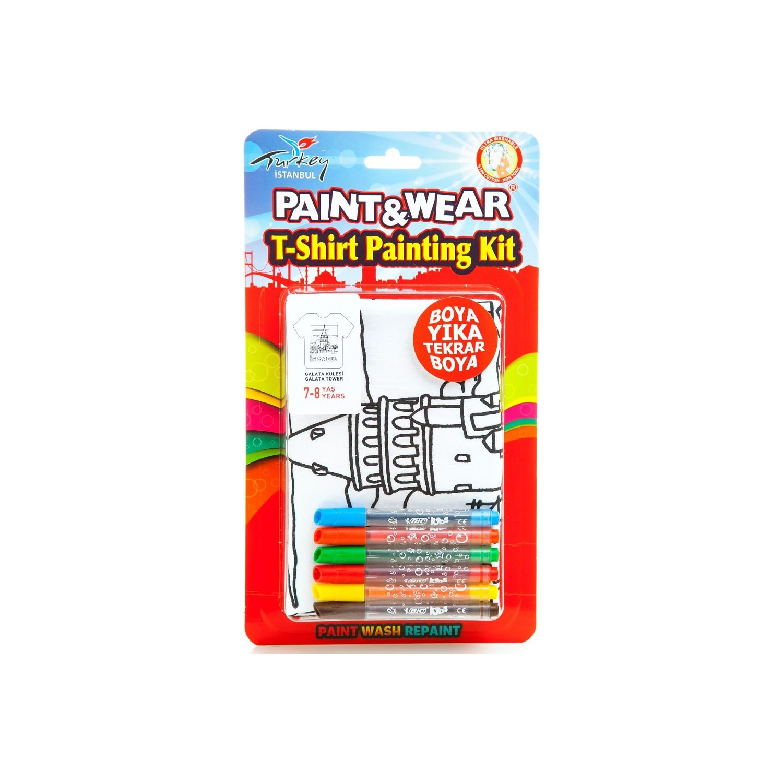 Paintwear Galata Kulesi Boyama T Shirt 4 6 Fiyatı