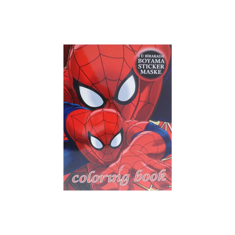 Partioutlet Spiderman Boyama Kitabı Fiyatı Taksit Seçenekleri