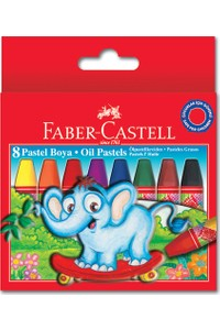 Faber-Castell Oil Pastels Set 8 Colors