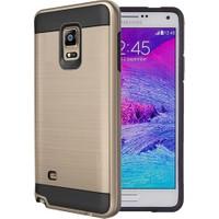 Case 4U Samsung Galaxy Note 4 Korumalı Kapak Altın
