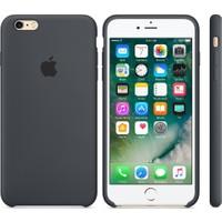 Apple iPhone 6/6S Silikon Kılıf Kömür Grisi (İthalatçı Garantili)