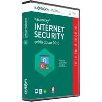 Kaspersky Internet Security 2016 2 Kullanıcı 1Yıl DVD