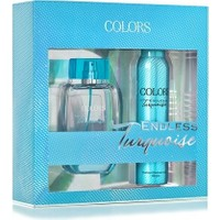 Rebul Colors Endless Turquoise Edp 75 ml Kadın Parfüm + 150 Ml Deodorant Set