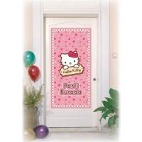 Tahtakale Toptancısı Kapı Banner Hello Kitty Temalı Kapı Afişi