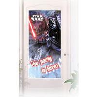 Tahtakale Toptancısı Kapı Banner Star Wars Temalı Kapı Afişi
