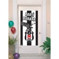 Tahtakale Toptancısı Kapı Banner Taraftar Beşiktaş Temalı Kapı Afişi