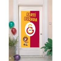 Tahtakale Toptancısı Kapı Banner Taraftar Galatasaray Temalı Kapı Afişi