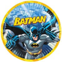 Tahtakale Toptancısı Tabak Batman Temalı 23 Cm (8 Adet)