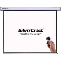 Silvercrest 240X200cm GLASS BEADS(CAM TOZLU) Motorlu Projeksiyon Perdesi