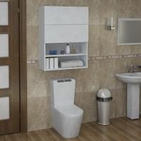 Sanal Mobilya Terni Klozet Dolabı Üst Modül Banyo Çok Amaçlı Dolap