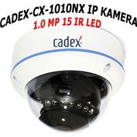 Cadex Cx Ip 1010Nx 720P 1.0Mp 15 Ir Led Ses Destekli Dome Ip Güvenlik Kamerası