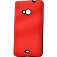 Kvy Microsoft Lumia 535 Kılıf Youyou Silikon +Cam