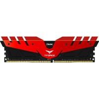 Team T-Force Dark 8GB DDR4 2400MHz Ram Kırmızı TM4TD240081RD